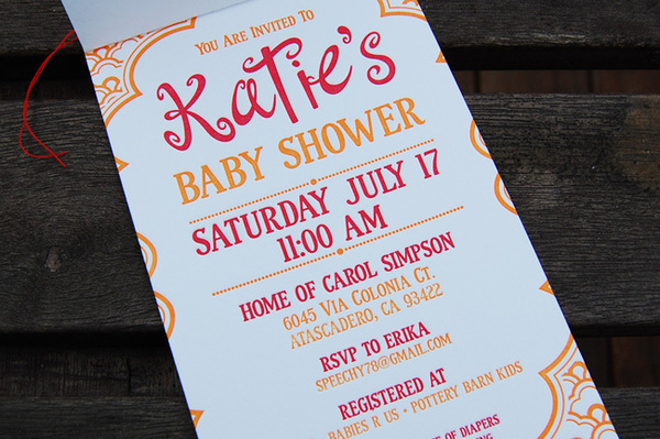 Baby Shower Invitation Design Idea_15