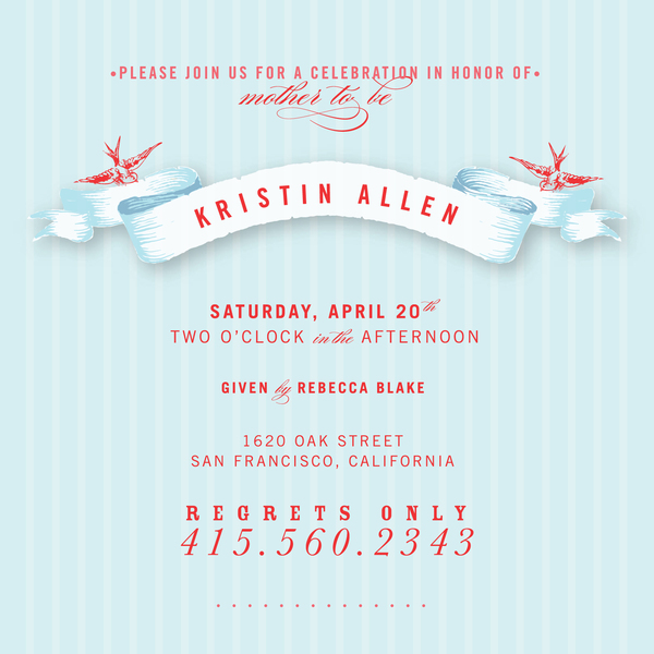 Baby Shower Invitation Design Idea_22