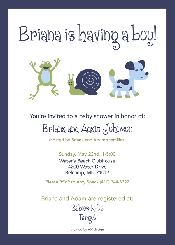 Baby Shower Invitation Design Idea_23