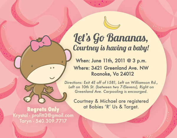Baby Shower Invitation Design Idea_24