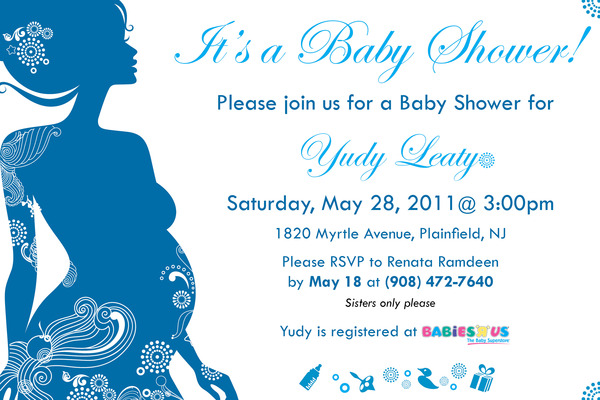 Baby Shower Invitation Design Idea_26