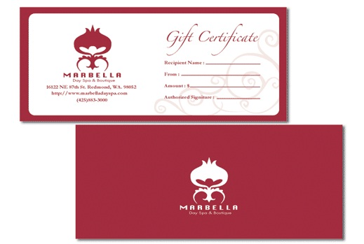 Business Gift Certificates 03
