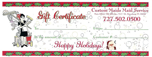 Business Gift Certificates 06