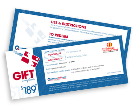 Business Gift Certificates 08