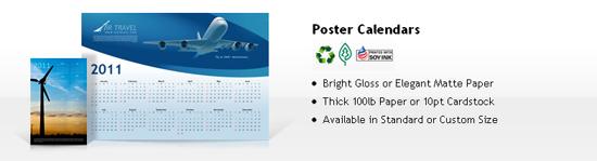 cheap calendar printing - poster calendars