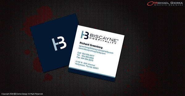 custom business card sizes - Square Business Card Size