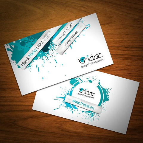 Custom Business Cards 001