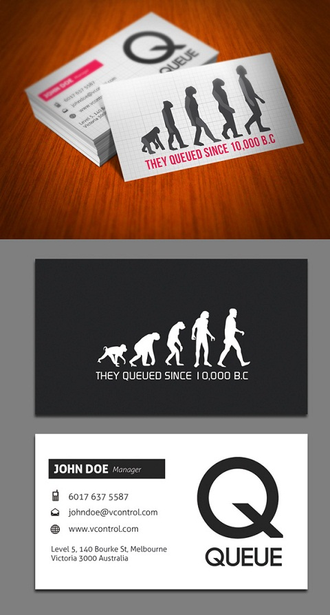 Custom Business Cards 081