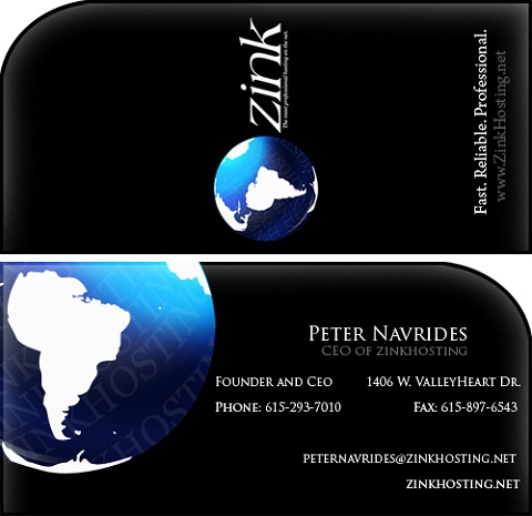Custom Business Cards 091