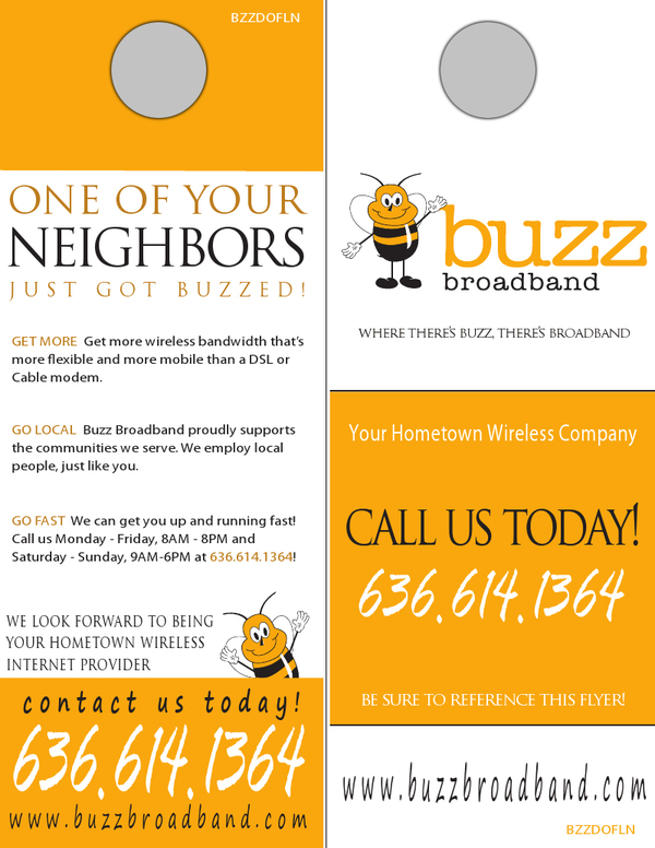 Door Hanger Design  sc 1 st  UPrinting : call door - pezcame.com