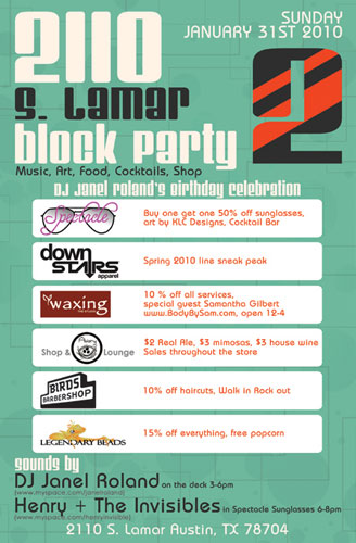 block party flyer ideas