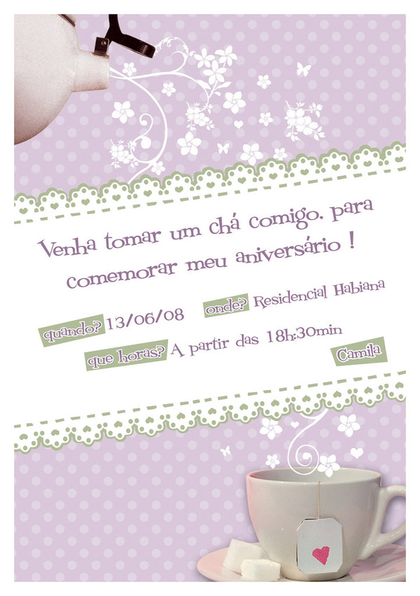 Invitation Design 06
