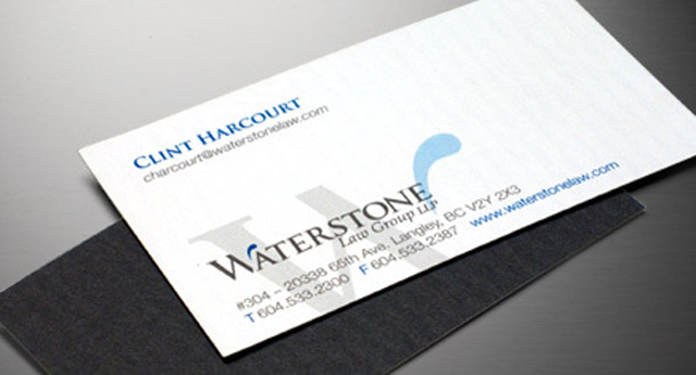 Professional Lawyer Business Cards - Industrial Brand