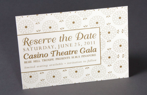Save the Date Card - Ashley Kenney