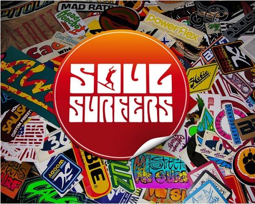 Surf Stickers 10