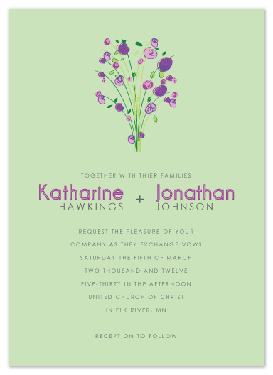 Wedding Invitation Sample_06