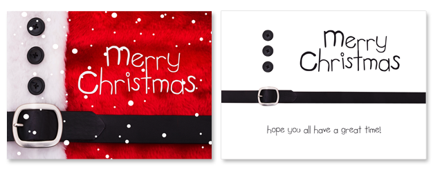 Custom Designed Christmas Cards