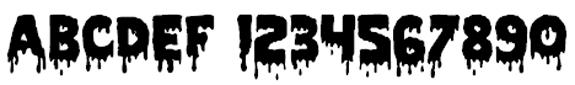 Norfolk Halloween Font
